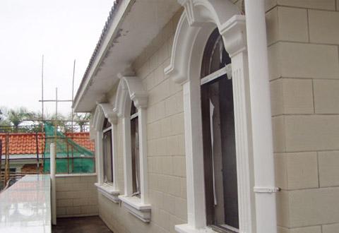 桂林私人别墅GRC窗套